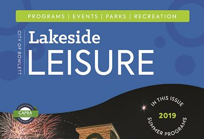 Cover of the 2019 Lakeside Leisure Summer edition
