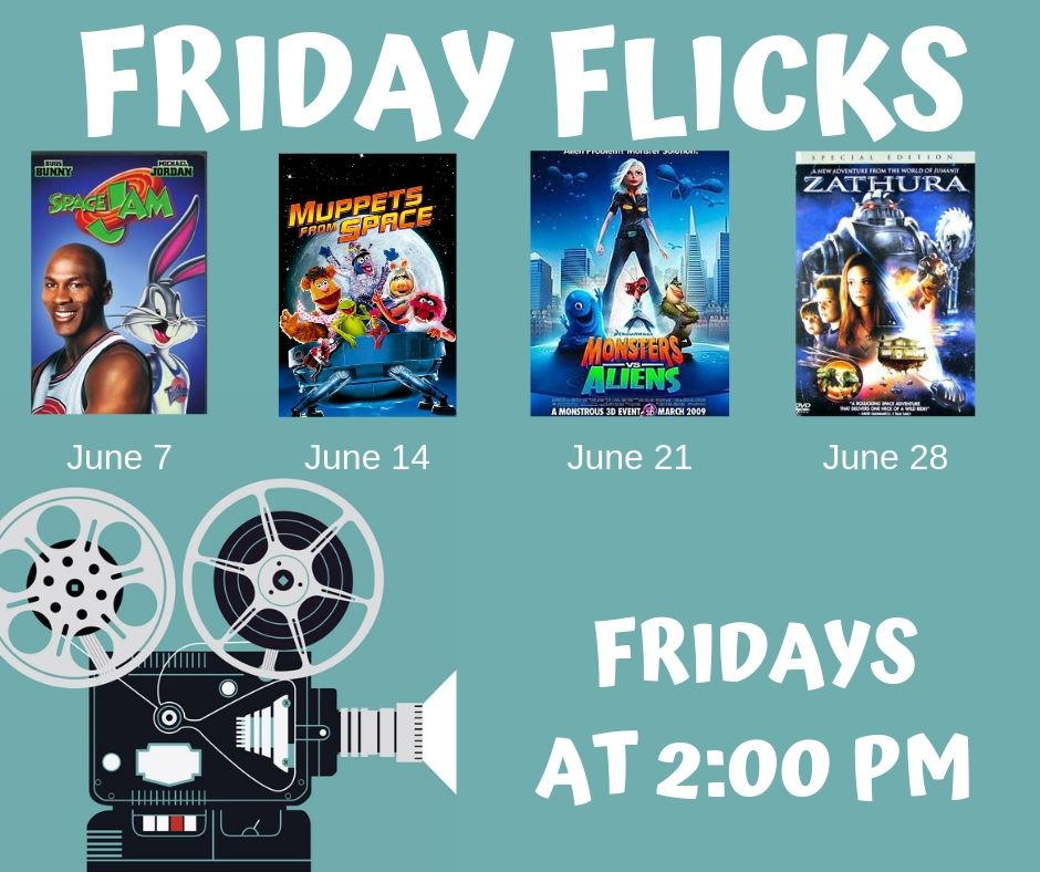 Friday Flicks-June-Monthly List for Mailchimp