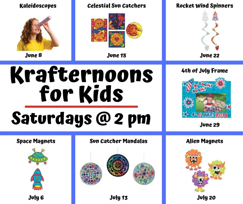 SRC 2019-Krafternoons for Kids