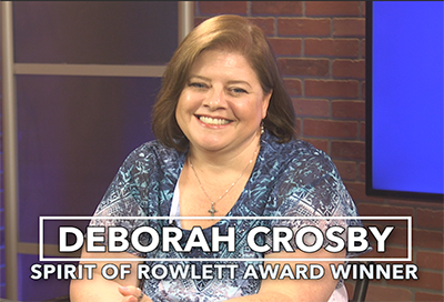 Deborah Crosby - Spirit of Rowlett July 2019 winner