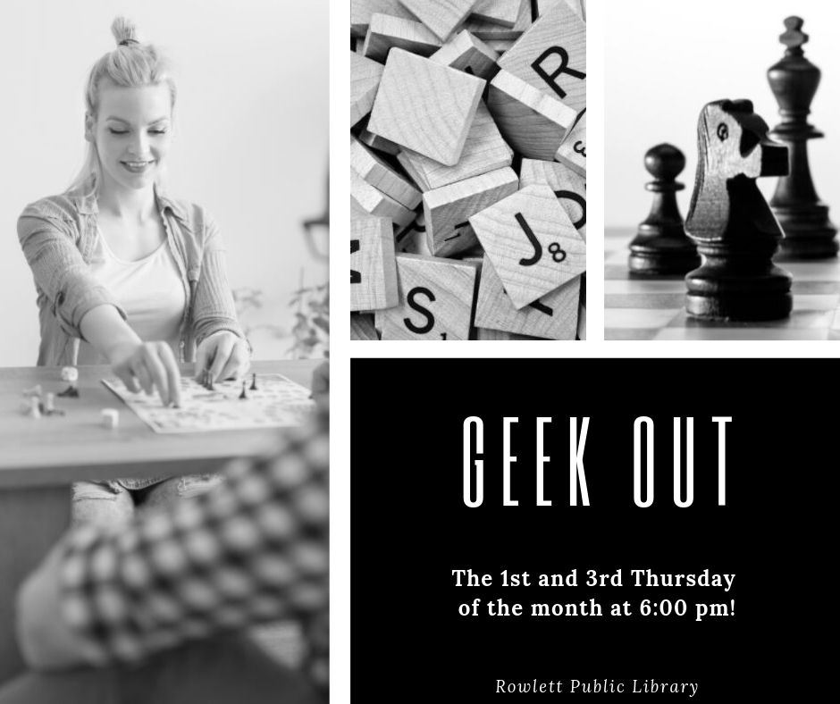 Geek Out-Fall 2019
