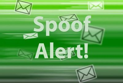 Email Spoof Alert graphic