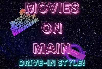 Movies on Main Drive-in Style