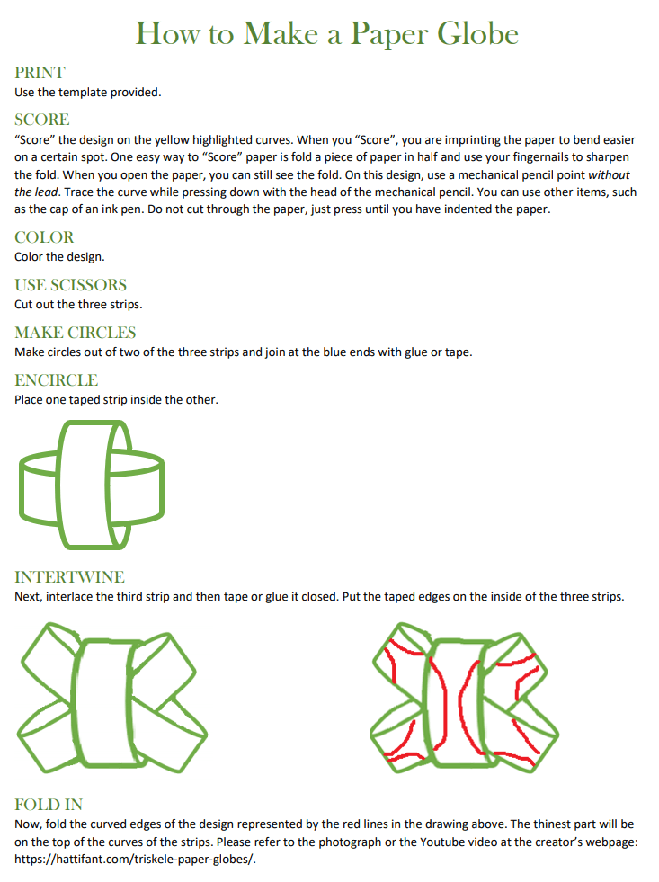Triskele instructions