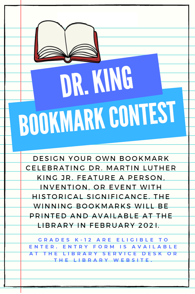 Dr King Bookmark
