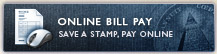Online Bill Pay - Save a Stamp, Pay Online